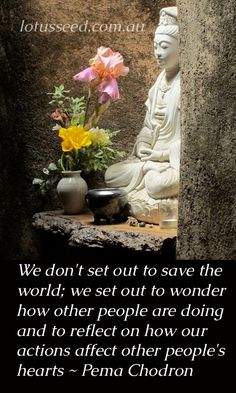 Pema Chodron Buddhist Zen quotes by lotusseed.com.au