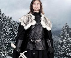 Endure the most unforgiving winter conditions during your patrol duty on the wall with the Game of Thrones Night's Watch cape. This serviceable cape is made from faux fur mantle - so no friggin' sweet direwolves were harmed in the making of the cape.