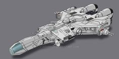 Star Wars CEC Modified YZ-900 2D Commission by AdamKop.deviantart.com on @DeviantArt