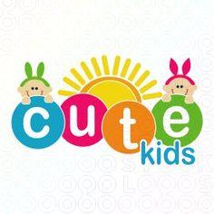 Cute Kids logo - see on stocklogos.com