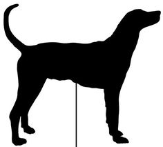 Plott Hound Garden Stake or Wall Hanging ** Detailed information can be found by clicking on the image