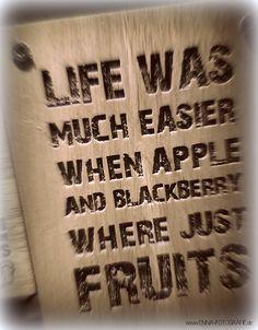 Blackberry Apple Spruch Sprüche