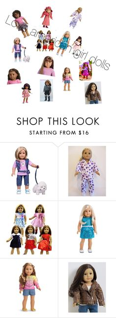 """Who doesn't love american girl dolls"" by schelsie ❤ liked on Polyvore featuring beauty and Truly Me"