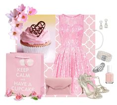 Cupcake Pink by kburton1971 on Polyvore featuring polyvore fashion style Chi Chi Benjamin Adams Givenchy Blue Nile Carolyn Pollack/Relios Nadri Tiffany & Co. Essie clothing