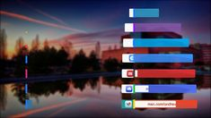 Social Media Lower Thirds -  After Effect Template AE