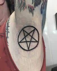 49 Best Pentagram Tattoo Images Pentagram Tattoo Meaning Tattoos