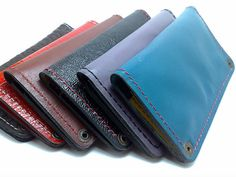 Handcrafted brick and blue cow leather all iPhone/4S by TIZART, $38.00