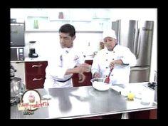 El chef Juan Carlos nos preparó una crema ligera de café con semifrío de menta