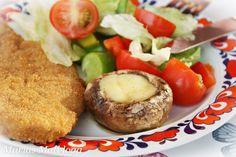 Marias Matglede ♥: Til inspirasjon: Vegetarisk grilltallerken Norwegian Food, Baked Potato, Bbq, Potatoes, Vegetarian, Baking, Ethnic Recipes, Barbecue, Barbacoa