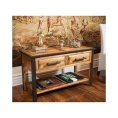 Designer Wood Table Console Accent Tables Hutch Buffet Cabinet Unique Furniture #RusticPrimitiveIndustrialUniqueChic