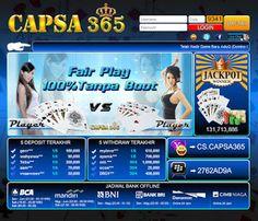 Temukan keseruan bermain poker online bersama capsa365.com. Poker online yang mendukung pembayaran lewat Bank BCA, BNI, BRI, CIMB Niaga, Bank Danamon dan Bank Mandiri. capsa365.com menghadirkan permainan Poker, Domino 99, Capsa Susun, AduQ (Poker, QQ, Ceme, BlackJack). Dapat bermainan langsung pada situs/ website ataupun download aplikasi untuk android, ipone dan ipad. http://duniaonlineoke.blogspot.sg/2015/07/capsa365com-poker-online.html