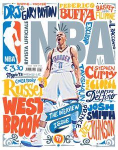 la cuisine du graphiste: Le magazine de la NBA