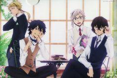 Doppo, Rampo, Dazai & Atsushi