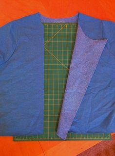 Refashion Co-op: Sweatshirt refashion