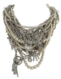 #TomBinns - Bead Necklace... Tom Binns is a modern jewelry icon.