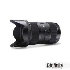 Sigma AF 18-35mm F1.8 DC HSM Lens Art Series Nikon Standard Zoom Lens, Usb Dock, Art Lens, Polarizing Filter, Art Series, Canon Lens, Lens Flare, Zoom Zoom