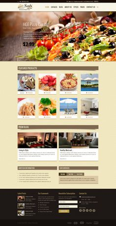 Sushi – Fully Responsive shopify theme suitable to promote Restaurant, hotel and food deals, restaurant packages, food combos, fashion/trendy products.