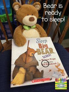 It's Time to...HIBERNATE!  Great mentor texts and read alouds for hibernation unit.