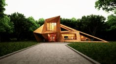 "House In The Forest "" By leqso tsiskarishvili "" 