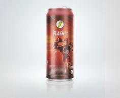 Flash can soda