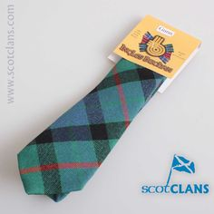 Gunn Ancient Tartan Child's Tie. Free worldwide shipping available