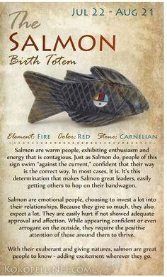 Salmon Animal Spirit Guides, Pics Art, Book Of Shadows, Native American Indians, Native American Totem, Native American Symbols, Native Indian, Nativity, Illustration