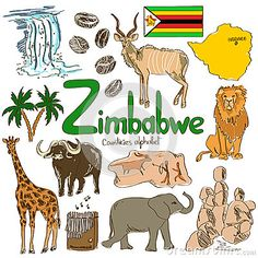 Zimbabwe Stock Illustrations – 297 Zimbabwe Stock Illustrations,