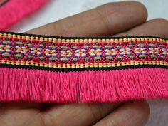 2 Yard Gypsy Bohemian Boho fringe trim #indianlacesandfabric