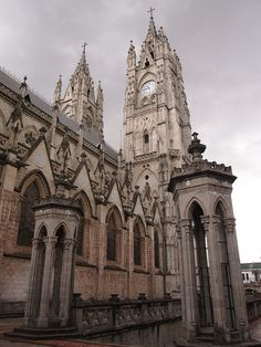 Basilica de  Quito,  Ecuador. Always wanted to get married there!