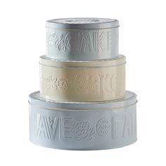 Mason Cash Retro Cake Storage Tins | NuCasa UK