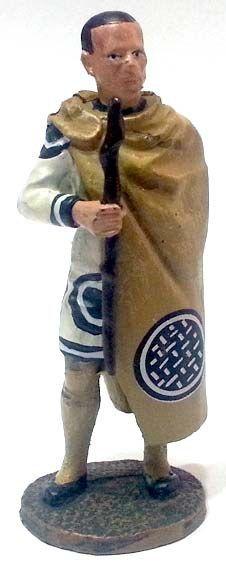 """Ufficiale di Cavalliera, Egitto, 300 d.C. circa, numero 82 di """"Roma e i suoi nemici"""" (2011 Vadis) #Miniatures #Figures #AncientRome #OspreyPublishing"""