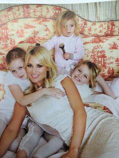 Adorable... Alex Gerrard's daughter in Baby Graziella!