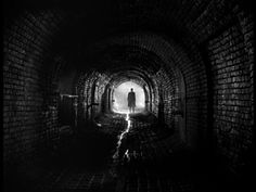 "From ""The Third Man."" This is a picture you feel, with goosebumps rising along the back of your neck."