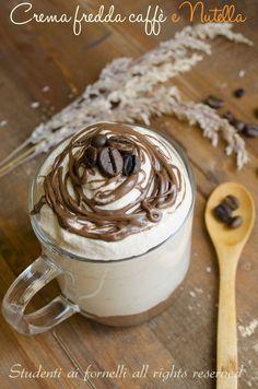 ricetta crema fredda caffè e nutella espressino freddo senza uova