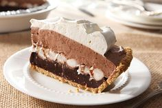 This creamy chocolate pudding pie is as easy to make as it is scrumptious—which is to say, very, very! Get out the marshmallows and let's go.