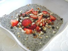 Chia Pudding Recipe    This chia pudding recipe is a great source of antioxidants, omega 3 fatty acids, fiber, manganese, magnesium, zinc, copper, niacin, and calcium.    http://blendhappy.com/recipe/better-than-love-chia-pudding-recipe/