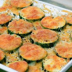 Cooking Pinterest: Baked Zucchini with Mozzarella