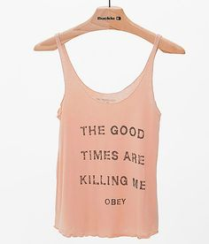 OBEY Killing Me Tank Top at Buckle.com