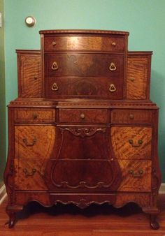 Revival Antiques Angelus Furniture Co 1920 S Highboy