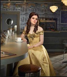 Emma Watson as Belle from Beauty in the Beast.