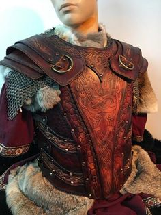 Asmund Battle Ready LARP/SCA Leather Armours
