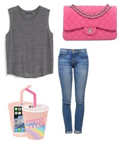 """sipping the tears of unicorns"" by kamaria-diani ❤ liked on Polyvore"