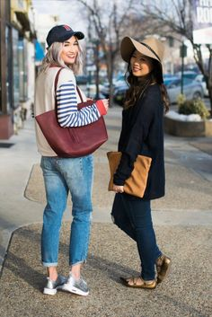 Two ways to style hats and metallic shoes!