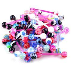 Yantu Tongue Ring 20 Pieces 14G (1.6mm), Assorted Flexible Bar or Surgical Steel Bar YANTU http://www.amazon.com/dp/B00LHBOLXS/ref=cm_sw_r_pi_dp_Vx4mvb0S5YBB6