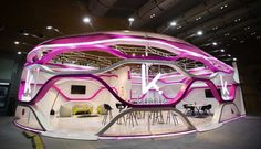 """Check out this @Behance project: """"A booth design for Karim Rashid, Shenzhen, China, 2017."""" https://www.behance.net/gallery/52463581/A-booth-design-for-Karim-Rashid-Shenzhen-China-2017"""