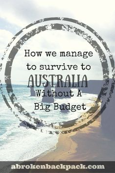 How we manage to survive to Australia without a big budget - Travel Trends Working Holiday Visa, Working Holidays, Moving To Australia, Australia Travel, Australia Visa, Sydney Australia, Amazing Destinations, Travel Destinations, Cool Places To Visit