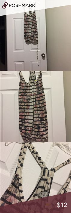 American Rag braided tank! Brand new with tags! American Rag tank with braided straps and loose fitting, racerback style. This is perfect for summer! American Rag Tops Tank Tops