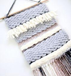 Weaving: Yarn Wall Hanging using the Adjustable Loom