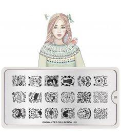 Enchanted Nail Art Design 01