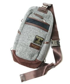 Master-Piece (MSPC) – Harris Tweed Density + Over Bags | ZOZOTOWN Limited Editon